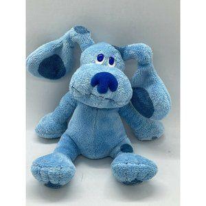 "Ty Beanie Babies Blues Clues 6"" Blue Plush Dog"
